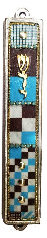 Mezuzah new home Scroll Israel gift Handmade by IrinaSmilansky, $30.99