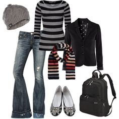 """Back To School"" by suzanne-v-wittman on Polyvore"