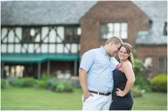 Tudor House Summer Engagement Session by the lake - New Franklin, Ohio | Loren Jackson Photography | Photographer Akron Ohio