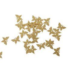 confettis papillon dor dco mariage baptme objet de dco dcoration gifi - Gifi Mariage