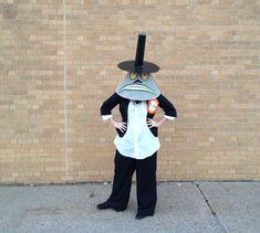 Halloween Town Mayor costume DIY from Nightmare Before Christmas!