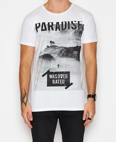Over Rated T-Shirt White