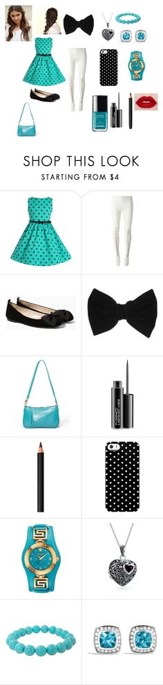 """""""Lucy's(Luke's twin sister)Outfit"""" by katiemorelan ❤ liked on Polyvore featuring Muveil, MANGO, claire's, Disney, Meredith Banzhoff, MAC Cosmetics, INIKA, Uncommon, Versace and Bling Jewelry"""