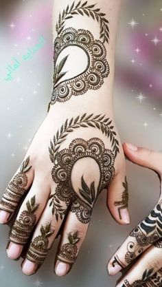 Explore Best Mehendi Designs and share with your friends. It's simple Mehendi Designs which can be easy to use. Find more Mehndi Designs , Simple Mehendi Designs, Pakistani Mehendi Designs, Arabic Mehendi Designs here. Mehndi Designs Finger, Khafif Mehndi Design, Henna Tattoo Designs Simple, Floral Henna Designs, Back Hand Mehndi Designs, Latest Henna Designs, Full Hand Mehndi Designs, Mehndi Designs For Beginners, Modern Mehndi Designs
