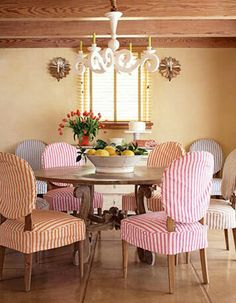 Slipcover Skirt And Closure Need These For My Dining Room Chairs Having Kids Destroyed Our Once Nice Chairs Kitchendining Room Pinterest Closure