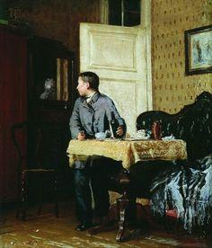 12 картин российских художников, которые не увидишь в учебниках Живопись, русский реализм, русская живопись, не мое, из сети, крамола, алкоголизм, длиннопост