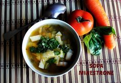 MINESTRONES SOUP SOPA MINESTRONE