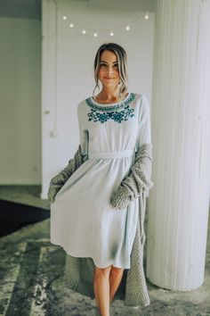 Dear self, I could wear this dress for any number of important people. And by important, I mean my in-laws, or my husband, or my friends, or my mother, or even perfect strangers. But for once, I'm going to wear this gorgeous garment only for you. Why? Because you deserve it. So this one's for us!