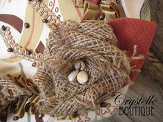 Better tutorial to help with making burlap flowers....Break it down for me!!