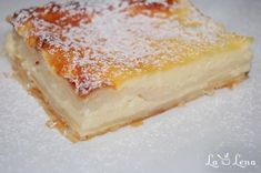 Placinta cu iaurt - LaLena.ro No Cook Desserts, Vanilla Cake, Cheesecake, Deserts, Food And Drink, Sweets, Candy, Cooking, Recipes