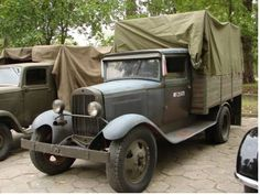 GAZ AA Creative Writing Ideas, Red Army, Scale Models, Military Vehicles, Poland, Antique Cars, Trucks, Projects, Photos