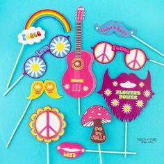 #photobooth #hippie #hippiechic #hippienight #mariagehippie #wedding #weddinghippie #wedding70 #vintage #pink #lunettes #moustache #barbe #flowers #peace #love #happypaille