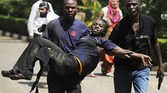 A group of armed men attacked an upscale shopping mall, killing at least 20 people, according to the Kenyan Red Cross, and wounding over 50. There were also reports that hostages had been taken.