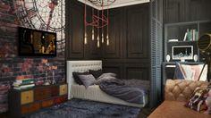 London Sky eclectic 32 Sqm studio apartment in London - HomeWorldDesign (7)