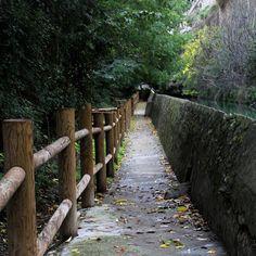 Ruta de la acequia en Alcalá del Júcar