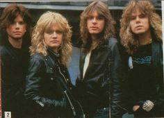 FORCE (Early EUROPE: Norum, Reno, Levén, Tempest)