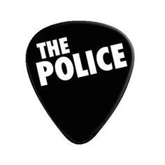 band logos | ... > Guitar Picks & Straps > The Police Band Logo 12-Pack Guitar Pick