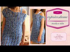 TUTORIAL: copricostume uncinetto/ abito mare/ summer dress crochet***la fata tuttofare*** - YouTube