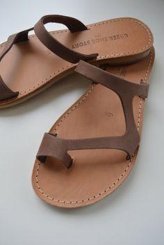 σανδαλι 'harmonia' greek shoe story