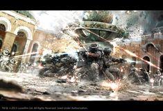 Action Packed Stormtrooper STAR WARS Art - Fire Assault — GeekTyrant