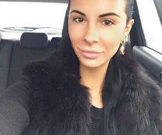 Красотка-полицейская Людмила Милевич показала в Facebook свою новую шубу