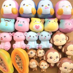 These are all my dream SQUISHIES