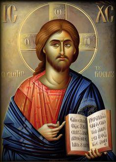 Christ Pantocrator, Bible Timeline, Pictures Of Jesus Christ, Byzantine Art, Orthodox Christianity, Religious Icons, Buddhist Art, Orthodox Icons, Holy Spirit