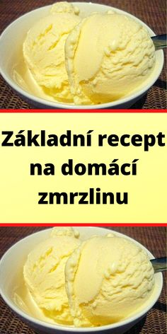Slovakian Food, Czech Recipes, Keto Bread, Ice Cream Recipes, International Recipes, Cheesecake, Deserts, Food And Drink, Sweets
