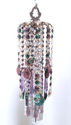 Old Wind Chimes | Forest Nymph Vintage Crystal Wind Chime