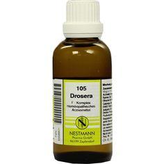 DROSERA F Komplex Nr.105 Dilution:   Packungsinhalt: 50 ml Dilution PZN: 05556601 Hersteller: NESTMANN Pharma GmbH Preis: 7,19 EUR inkl.…