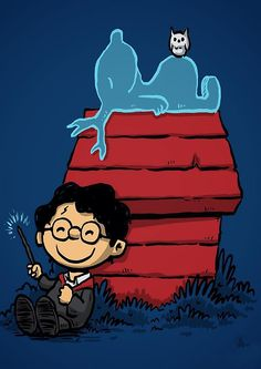 snoopy harry potter