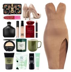 """5.211"" by katrina-yeow ❤ liked on Polyvore featuring Rupert Sanderson, Dolce&Gabbana, Jeffree Star, John Varvatos, Too Faced Cosmetics, MAC Cosmetics, Giorgio Armani, Nudestix, Dr.Hauschka and Smashbox"