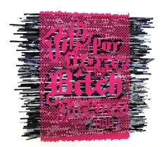 Paper Weaved Bitch -