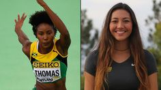 Two local athletes will be taking part in the Olympic opening ceremony but walking with other countries.