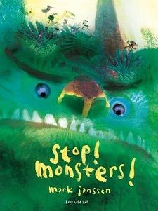 Stop! Monsters! | Leesfeest Big Scary, Scary Monsters, Forest Illustration, Magic Forest, Everything Is Possible, Two Brothers, Zine, One Pic, Childrens Books