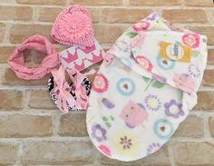 Baby Girls Newborn Gift Pack, Gift Hamper for Baby Gift, Baby Shower - Pink