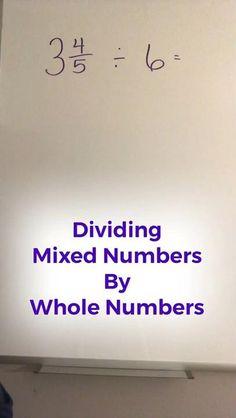 Math Strategies, Math Resources, Math Tips, Math Activities, Multiplication, Math Fractions, Math For Kids, Fun Math, Math Helper