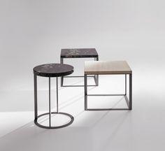 Maxalto lithos tables by designer Antonio Citterio.