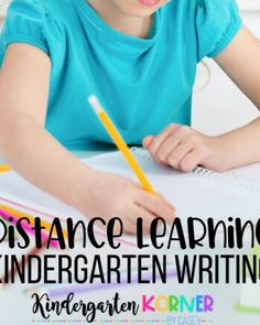 Are your looking for quality distance learning resources to homeschool your kindergarten student over the unexpected break due to the Coronavirus? Kindergarten Goal Sheet, Kindergarten Math Wall, Kindergarten Graduation Songs, Teaching Handwriting, Writing Lessons, Learning Resources, Teacher Resources, Teaching Ideas, Boards