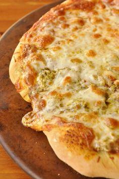 Pesto Chicken Pizza - Pesto makes everything better, even pizza :)