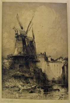 HEDLEY FITTON - The two mills