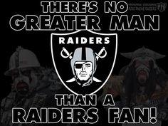 My Hunny Loves The Raiders!