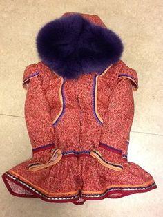 Inuit made girl's parka via Emily Joanasie