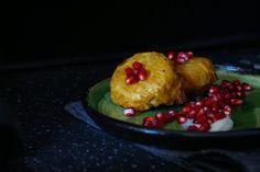 Tortilla párnácskák Baked Potato, Tapas, Muffin, Potatoes, Pudding, Baking, Breakfast, Ethnic Recipes, Desserts