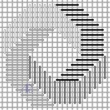 bargello needlepoint tutorial ile ilgili görsel sonucu