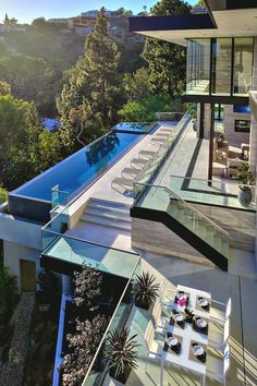 modern interiors & architecture — livingpursuit: $15.9 Million Luxury Home in Los...