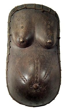 Makonde Body Mask 16, Tanzania