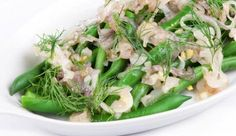 Green beans with dill and shallots    #NewZealand #vegetable #recipes
