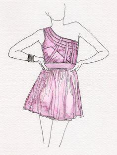 186 best fashion watercolor images on pinterest drawing fashion 1966 Clothing Advertisements jo klima watercolor fashion watercolor illustration 30 day doodles doodle art