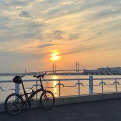 DAHON sunset Instagram post by ★Soichi • Aug 5, 2017 at 12:36pm UTC